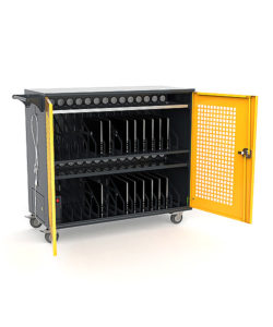 Тележка для зарядки ноутбуков ТЗН-30: купить в Москве по цене 49 500 руб | Интернет-магазин «Мебель Металлическая»