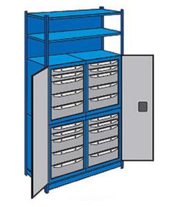 Система хранения WORK ST5: купить в Москве по цене 88 600 руб | Интернет-магазин «Мебель Металлическая»