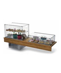 Комплект кондитерских витрин (холодильная + холодильная): купить в Москве по цене 209 300 руб | Интернет-магазин «Мебель Металлическая»