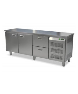 Стол морозильный кондитерский 2 двери 2 ящика (боковой агрегат): купить в Москве по цене 149 700 руб | Интернет-магазин «Мебель Металлическая»
