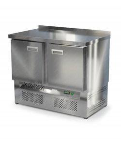 Стол морозильный из нержавейки 1000 мм (нижний агрегат): купить в Москве по цене 74 300 руб | Интернет-магазин «Мебель Металлическая»