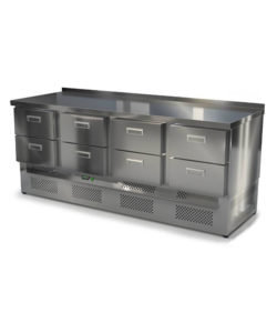 Стол морозильный из нержавейки 2000 мм (нижний агрегат): купить в Москве по цене 121 800 руб | Интернет-магазин «Мебель Металлическая»