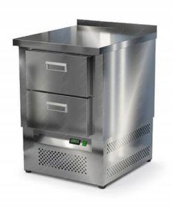 Стол морозильный из нержавейки 600 мм (нижний агрегат): купить в Москве по цене 62 100 руб | Интернет-магазин «Мебель Металлическая»
