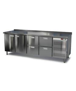 Стол морозильный под тепловое оборудование 2300 мм: купить в Москве по цене 135 900 руб | Интернет-магазин «Мебель Металлическая»