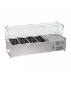 Витрина холодильная настольная для топингов 4GN 1/3: купить в Москве по цене 39 700 руб | Интернет-магазин «Мебель Металлическая»