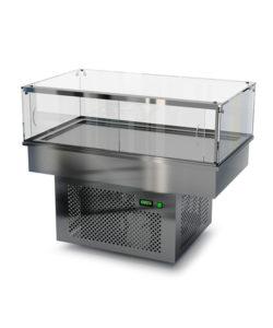 Холодильная встраиваемая витрина 300 мм (универсальная): купить в Москве по цене 117 200 руб | Интернет-магазин «Мебель Металлическая»