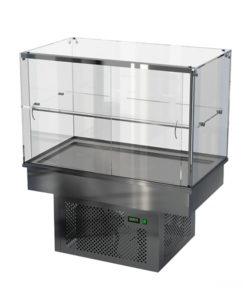 Холодильная встраиваемая витрина 600 мм (универсальная): купить в Москве по цене 129 000 руб | Интернет-магазин «Мебель Металлическая»