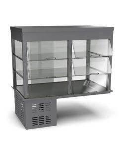 Холодильная встраиваемая витрина 800 мм: купить в Москве по цене 121 200 руб | Интернет-магазин «Мебель Металлическая»