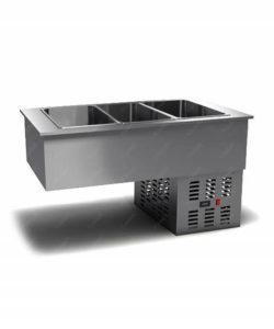Салат-бар холодильный встраиваемый: купить в Москве по цене 65 300 руб | Интернет-магазин «Мебель Металлическая»