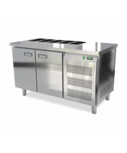 Салат-бар охлаждаемый 1400 мм GN1/3 (агрегат справа): купить в Москве по цене 95 000 руб | Интернет-магазин «Мебель Металлическая»