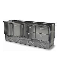 Салат-бар охлаждаемый 2000 мм GN1/6 (агрегат снизу): купить в Москве по цене 110 100 руб | Интернет-магазин «Мебель Металлическая»